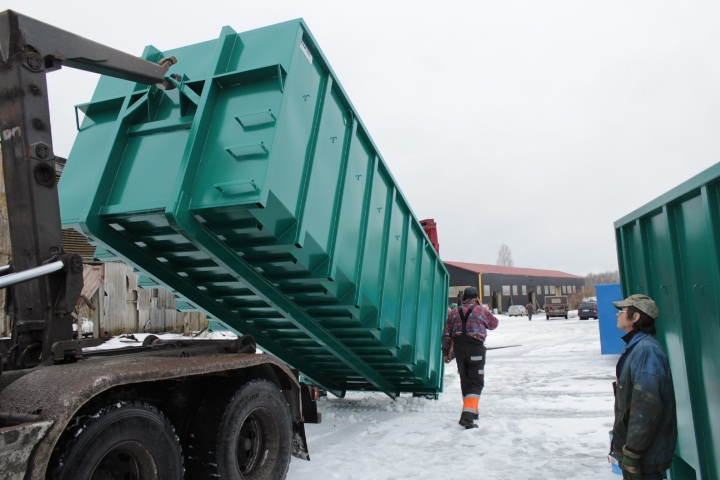 Hooklift Containers & Hooklift Containers | Steelcon-Service.com (containers framework ...